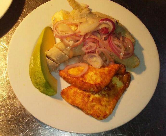desayuno típico dominicano